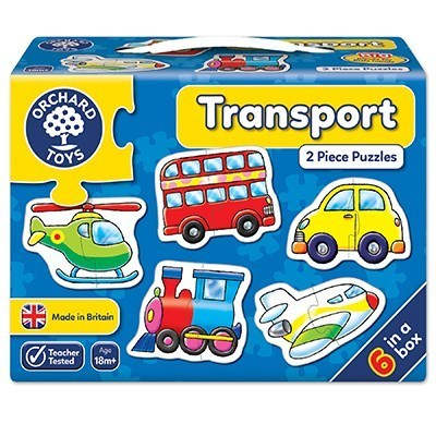 Large orchard toys transport jigsaw puzzle