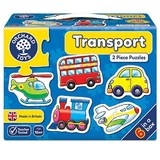 Small orchard toys transport jigsaw puzzle