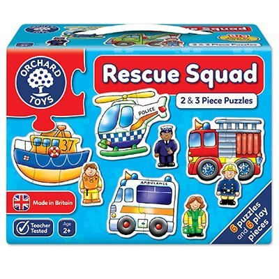Large orchard toys rescue squad jigsaw puzzle copy