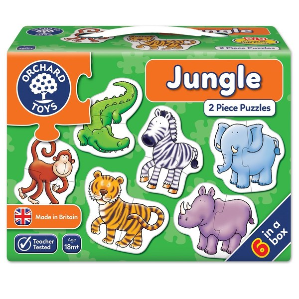 Large orchard toys jungle jigsaw puzzle