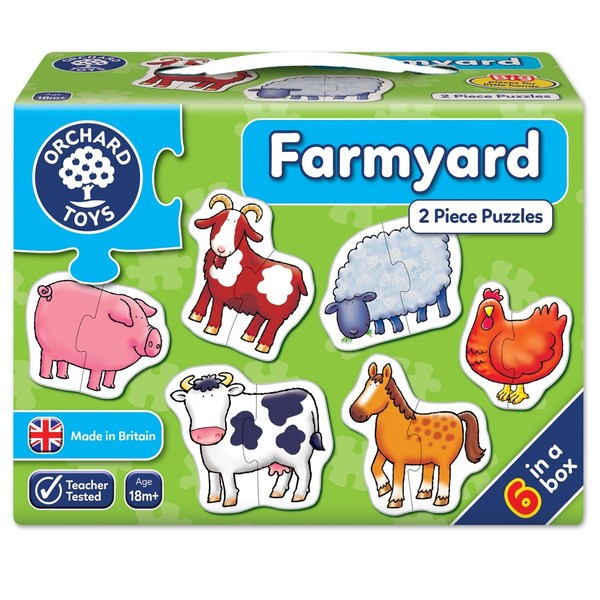 Large orchard toys farmyard jigsaw puzzle