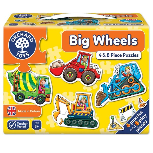 Large orchard toys big wheels jigsaw puzzle
