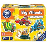 Small orchard toys big wheels jigsaw puzzle