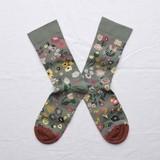 Small socks cedar flower