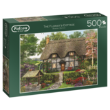 Small falcon the florist s cottage 500pc jigsaw puzzle