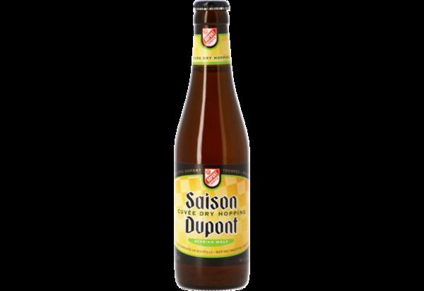 Large saison dupont cuvee dry hopping