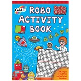 Small galt robo crew robot activity book for children aged 6 six years and up