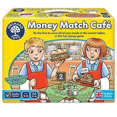 Large orchard toys money match cafe game international