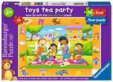 Small ravensburger fun junction toy shop perth crieff perthshire scotland jigsaw puzzle toys tea party 16pc piece garden teddybear picnic my first floor puzzles