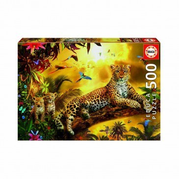 Large leopard puzzle