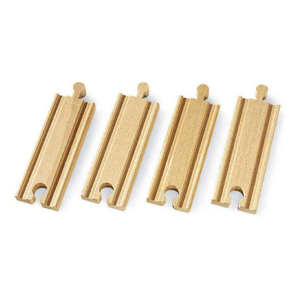 Large short straight streight strate tracks brio railway wooden track add ons on accessories