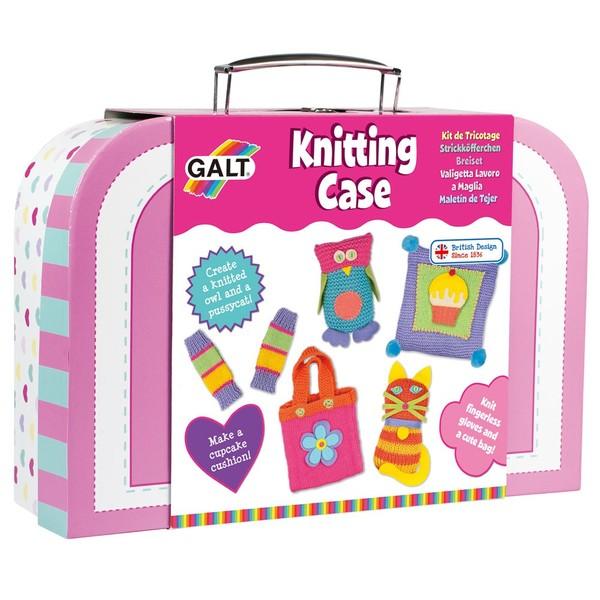 Large fun junction galt craft kit knitting case early knitting set