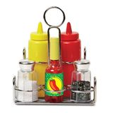 Small condiments set
