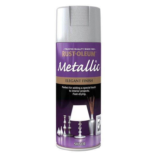 Large metalic silver