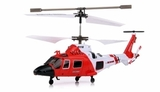 Small syma s111g 3 channel rc indoor mini co axial infared mh 68a hitron u s coast guard rc helicopter w built in gyro red 7