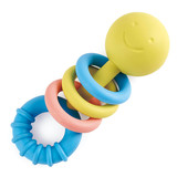 Small rattling rings teether