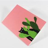 Small cactus cat
