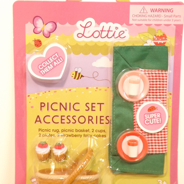 Large lottie picnic accessories