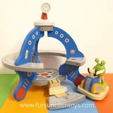 Small mbl h hape ufo and poseable posable alien play set suitable for children aged 3 three and up w