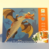 Small dj ck paper toy giant dragon  w