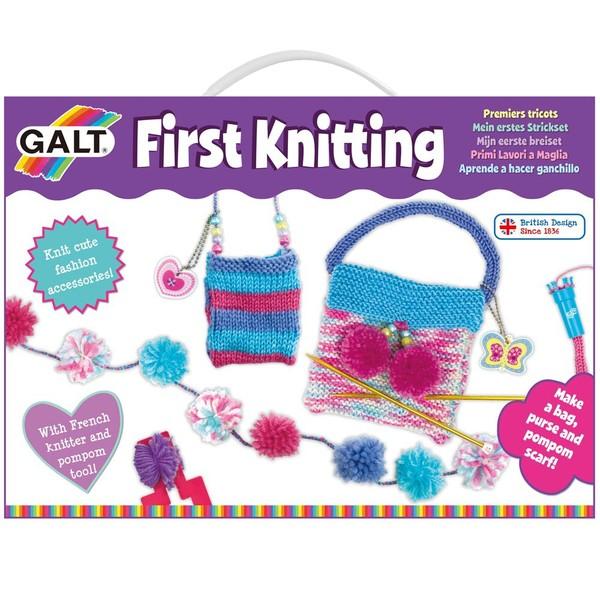 Large fun junction galt craft kit first knitting kit set french knitter pompom pom pom maker
