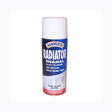 Small hammerite radiator enamel gloss white 400ml aerosol pk of 6 15697 p
