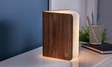 Small gingko smart book light  natural wood01