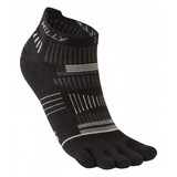 Small hilly toe sock black