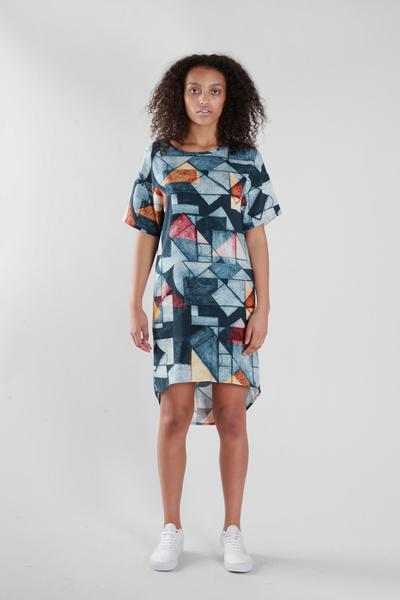 Large oli etch dress
