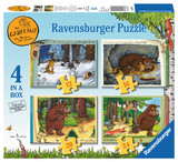 Small ravensburger fun junction toy shop perth crieff perthshire scotland jigsaw puzzle jig saw the gruffalo 4 in a box