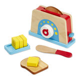 Small fun junction toy shop perthshire melissa doug bread butter toaster play set toy food cooking wooden