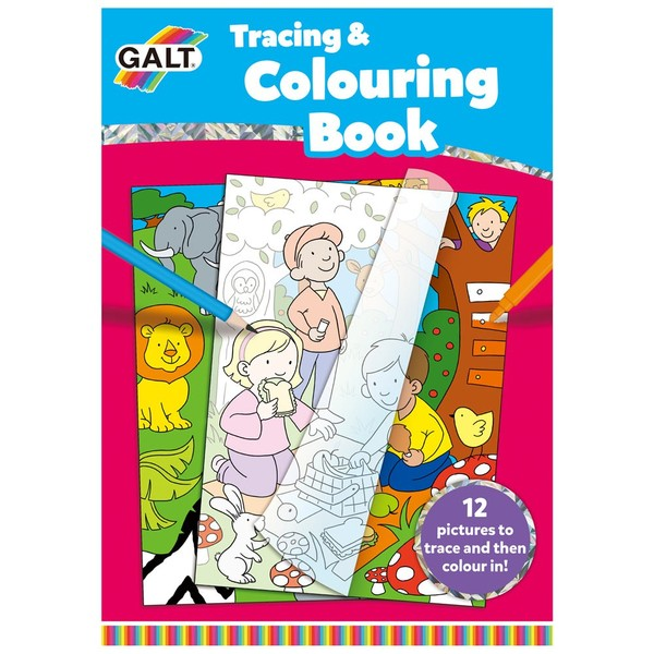 Large fun junction galt colouring book tracing pictures