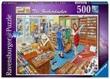 Small ravensburger fun junction toy shop perth crieff perthshire scotland jigsaw puzzle jig saw happy days at work  the haberdasher  500pc trevor mitchell