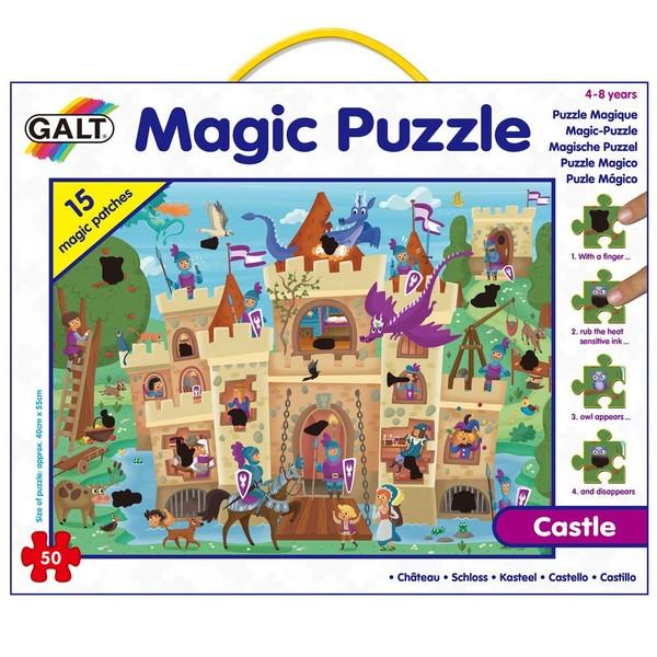 Large fun junction galt magic puzzle heat sensitive patches reveal pictures hidden scenes haunted house