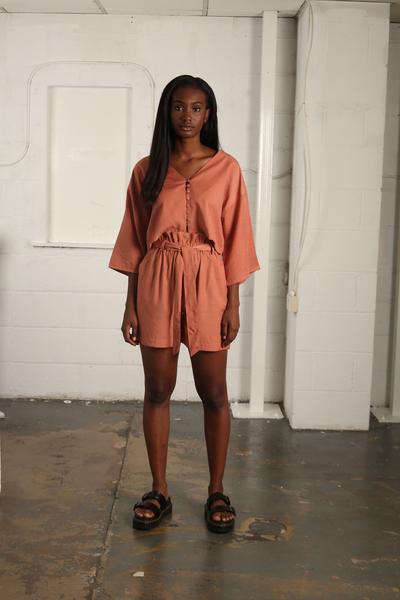 Large nyss19 rust shorts