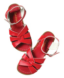 Small red salt water sandal