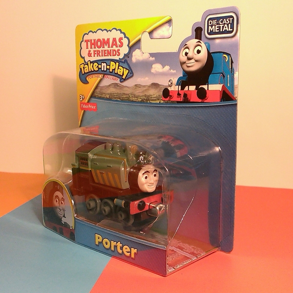 Large take n play thomas and friends porter