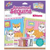 Small fun junction galt toys sensational sequins kittens sequin art