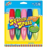 Small fun junction galt squeeze n brush colouring pens brush tips paint funky glitter colours uk scotland perthshire