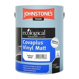 Small 0100153 johnstones trade covaplus vinyl matt brilliant white 5l 550
