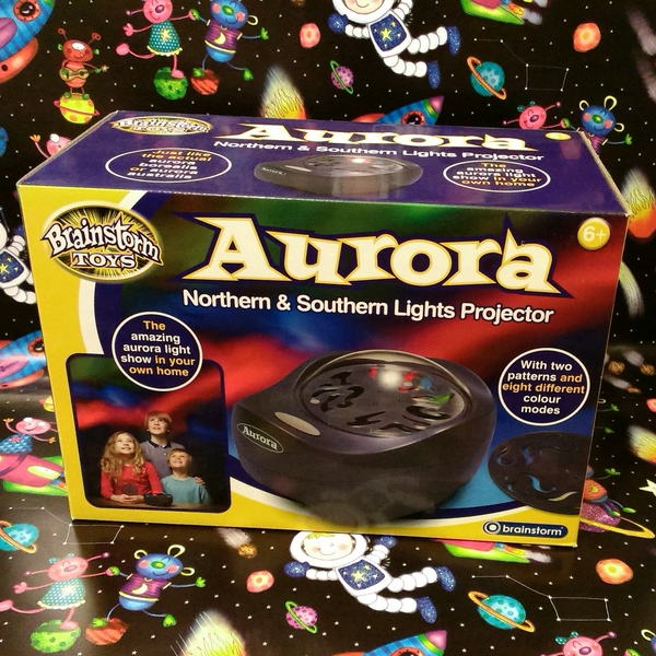 Large aurora northern and southern light lights projector space toy
