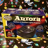Small aurora northern and southern light lights projector space toy
