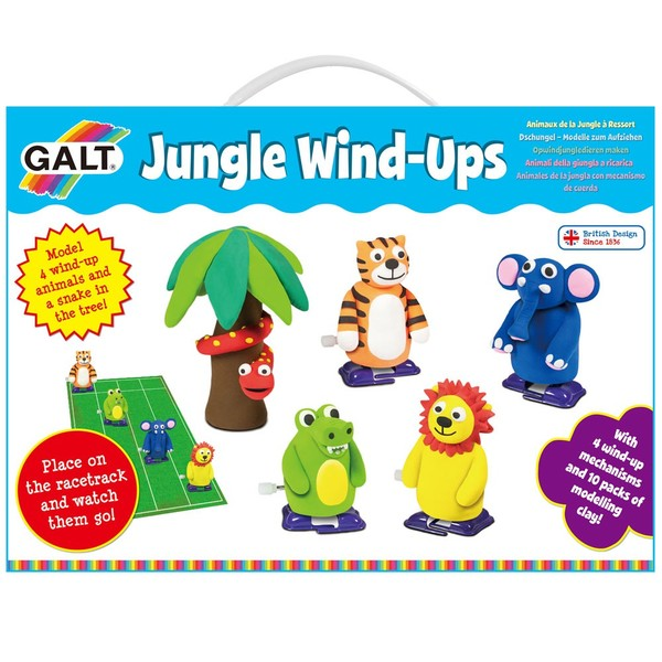 Large galt toys fun junction toy shop crieff perth perthshire scotland wind up make your own game air drying clay race racing game
