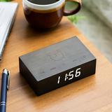 Small flip click clock