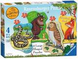 Small ravensburger fun junction toy shop perth crieff perthshire scotland jigsaw puzzle jig saw gruffalo 4 large shaped puzzles
