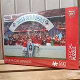 Small jigsaw football arsenal 2014 fa cup winners