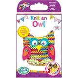 Small galt knit an owl