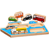 Small ferry cars transport shape sorter puzzle lanka kade fair trade toy toys wooden wood natural fun junction toy shop stop store crieff perth perthshire scotland