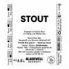 Small bwb stout 33cl