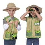 Small melissa and doug back yard explorer dress up kit science preschool
